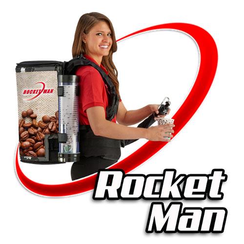 Rocket Man Equipment Mobile Beverage Backpack
