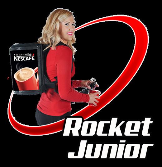 Rocket Man Junior Mobile Beverage Backpack