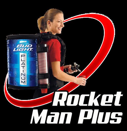 Rocket Man Plus Mobile Beverage Backpack